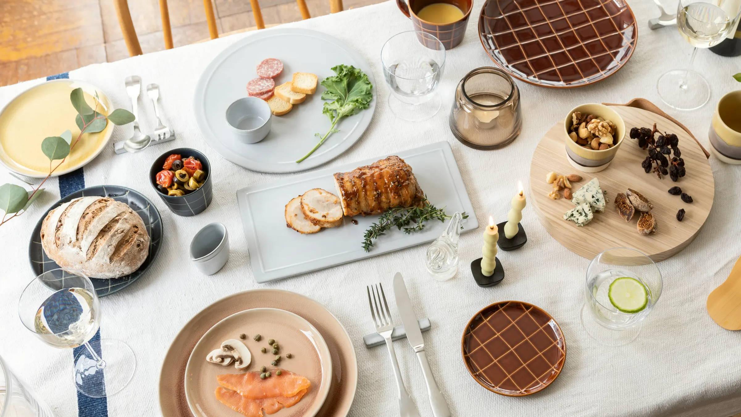ホテルランチをご自宅で体験できるテーブルウェア