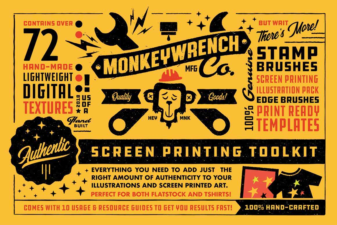 Authentic Screen Printing Toolkit