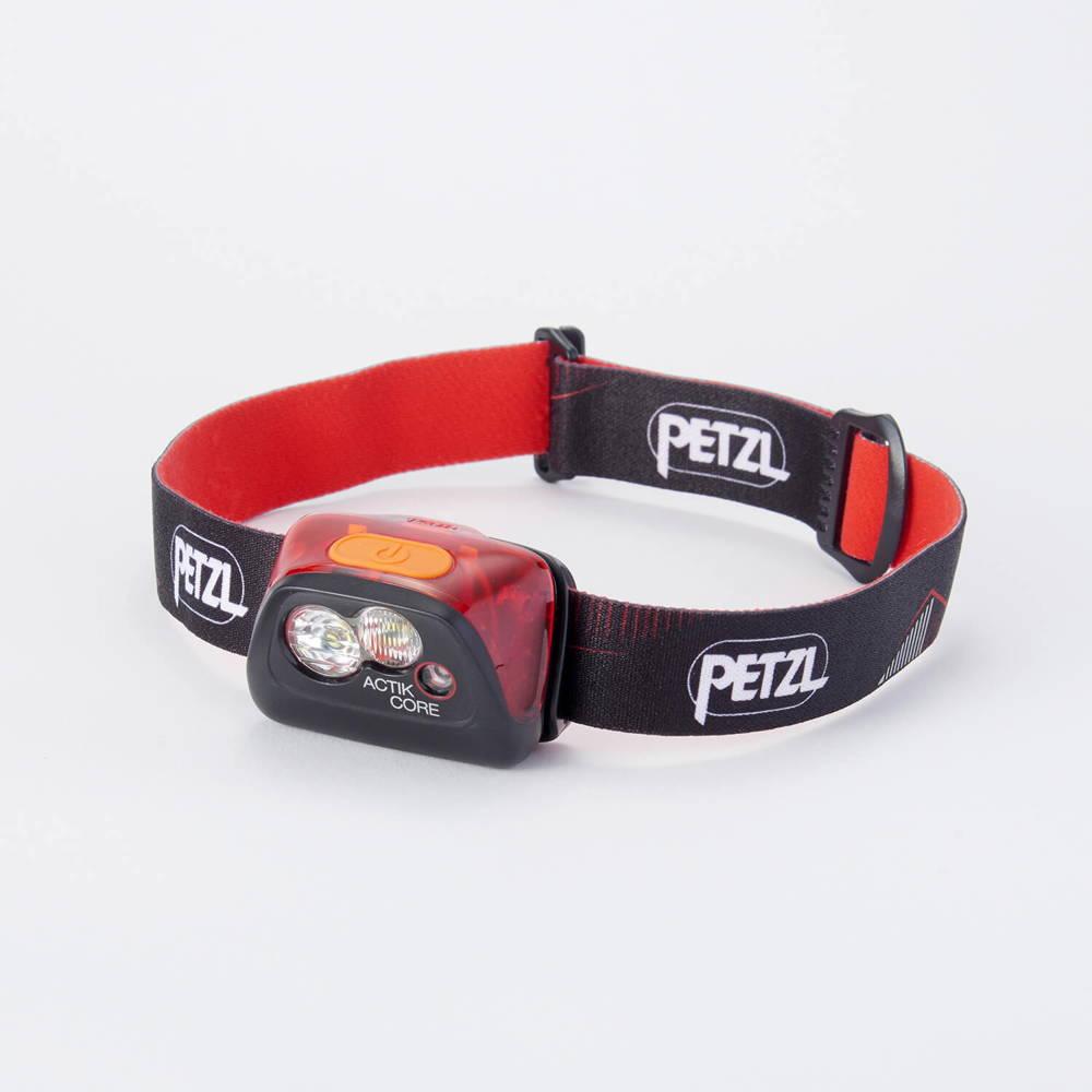 PETZL(ペツル)/アクティックコア/レッド×ブラック