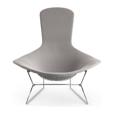 Modern Silver Lounge Chairs
