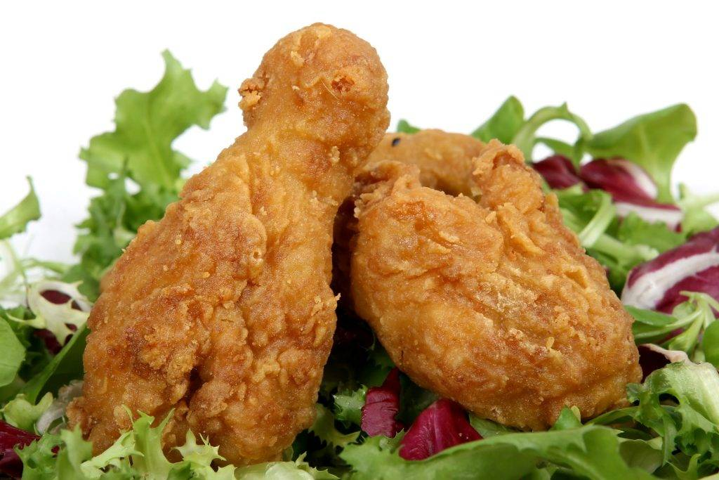 High Quality Organics Express Fried Chicken Salad