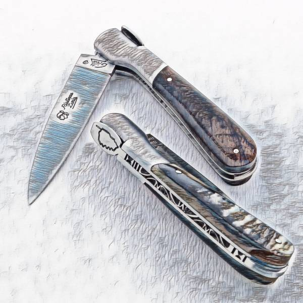 Pialincu Corsican pocket knives