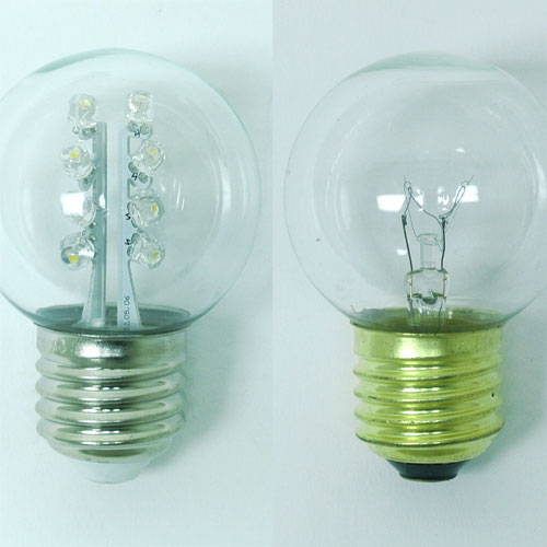 LED vs. Incandescent