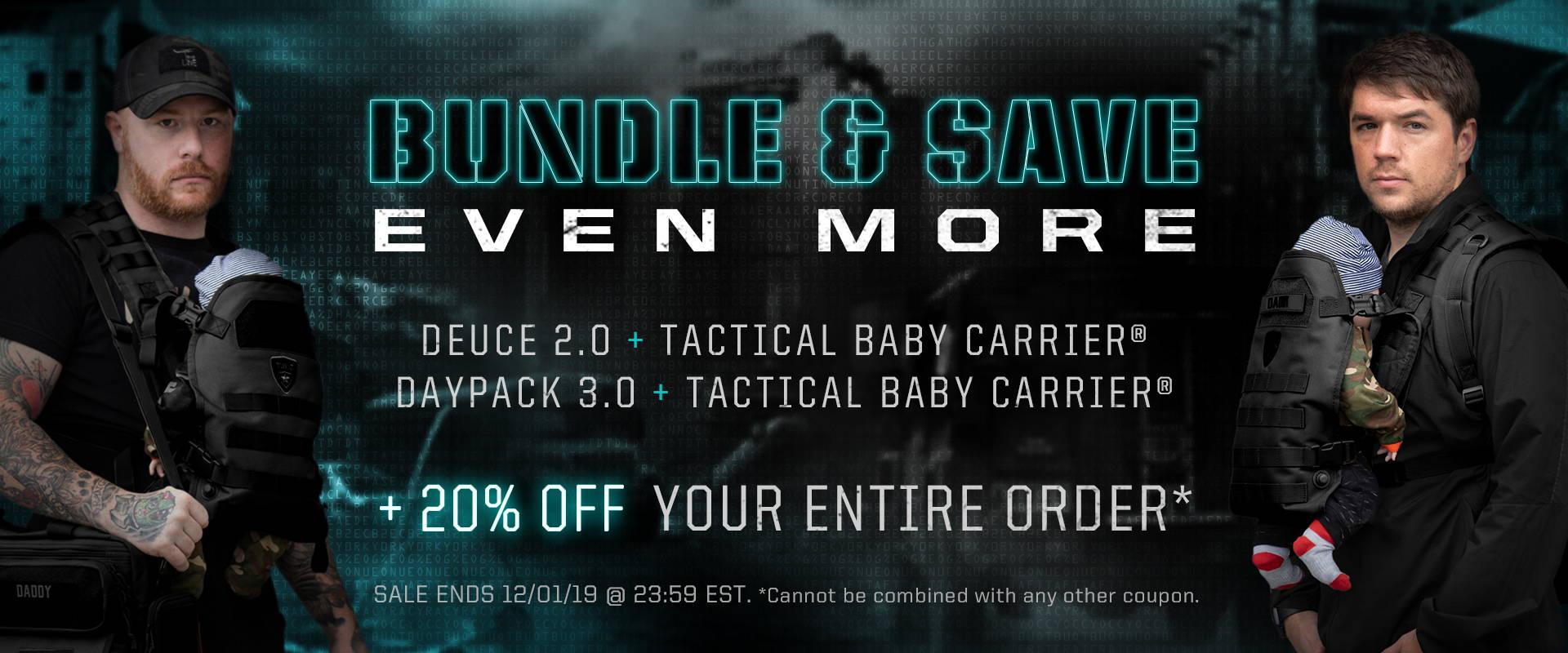 Cyber Monday Bundles Bundles Tactical Baby Gear