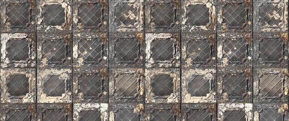 NLXL Brooklyn Tins Wallpaper