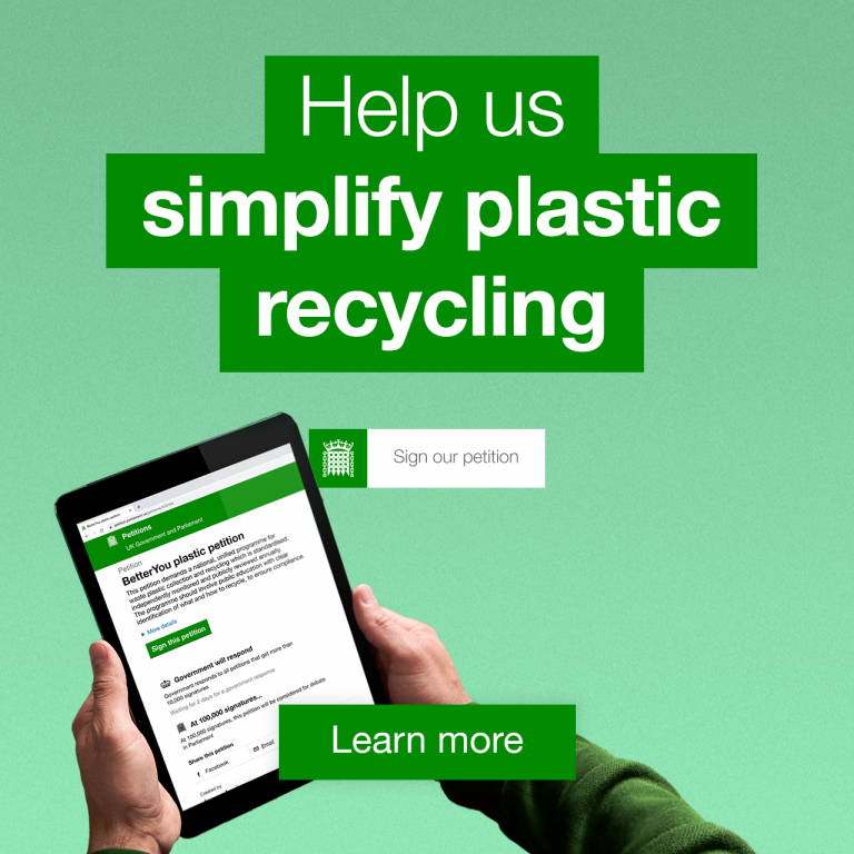 Sign our plastic petition