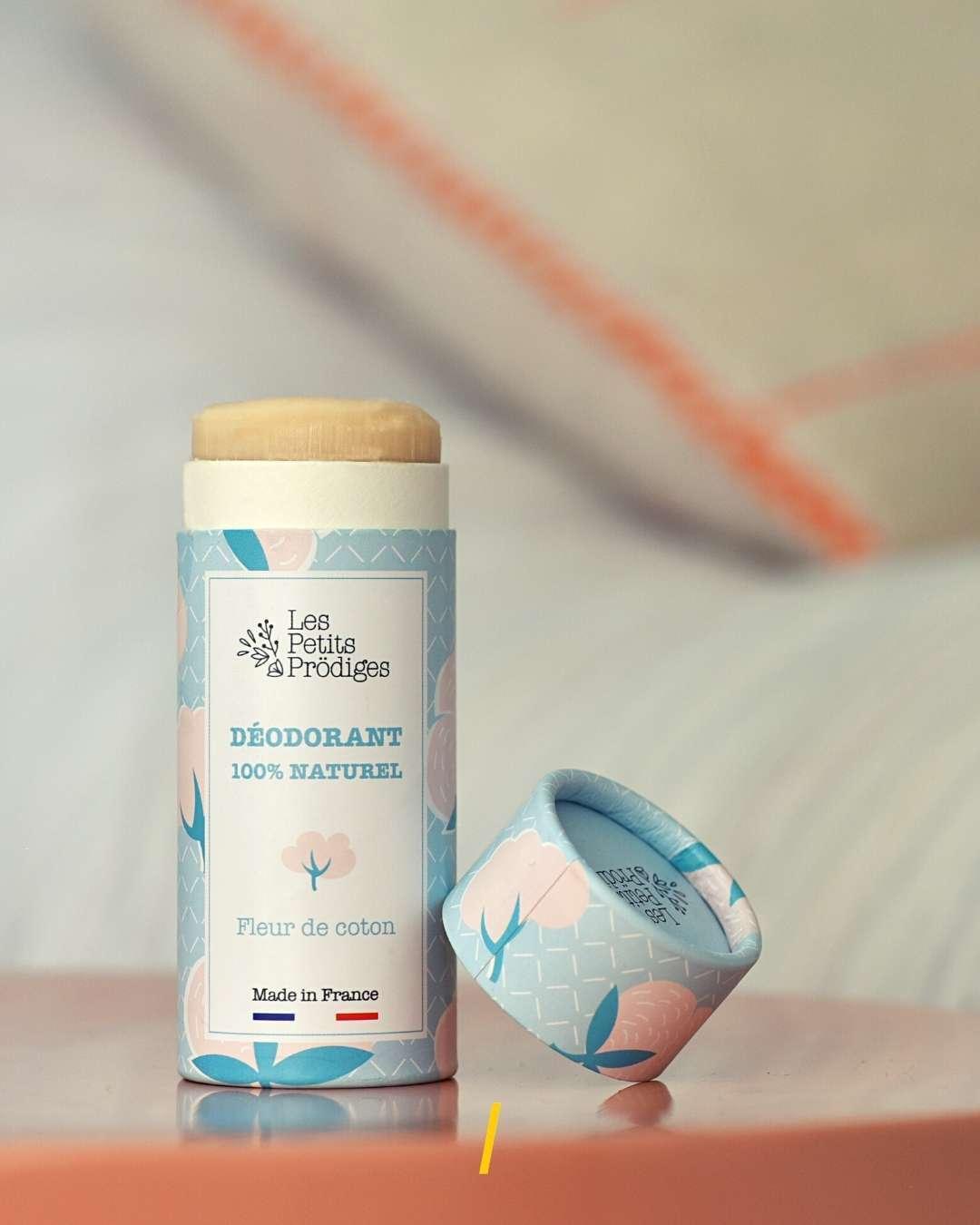 Déodorant naturel Fleur de coton