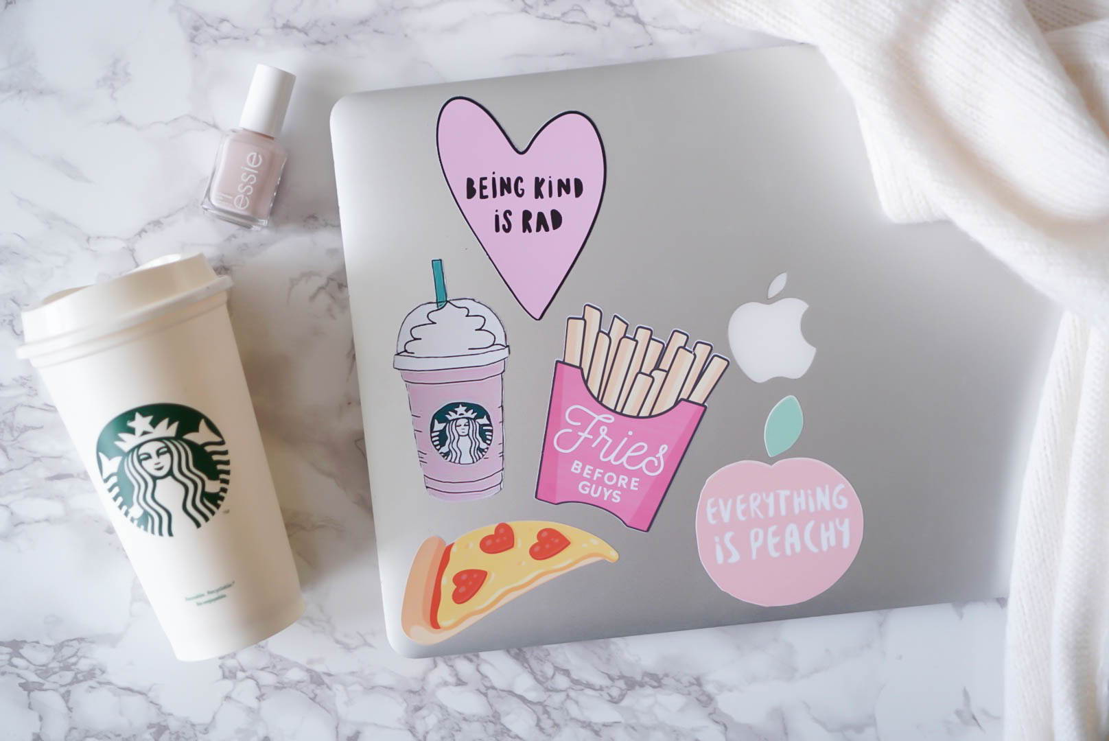 photo about Printable Adhesive Vinyl titled Do it yourself Millennial Red Laptop or computer Stickers Guidebook: How towards Hire