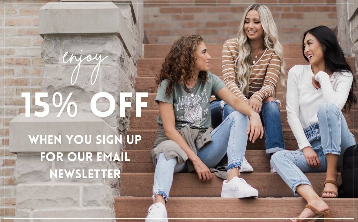 Bella Ella Boutique Newsletter Sign Up and Get 15% Off, Valid for New Email Subscribers Only