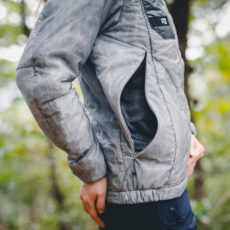 finetrack(ファイントラック )/ポリゴン2ULジャケット/グレー/WOMENS