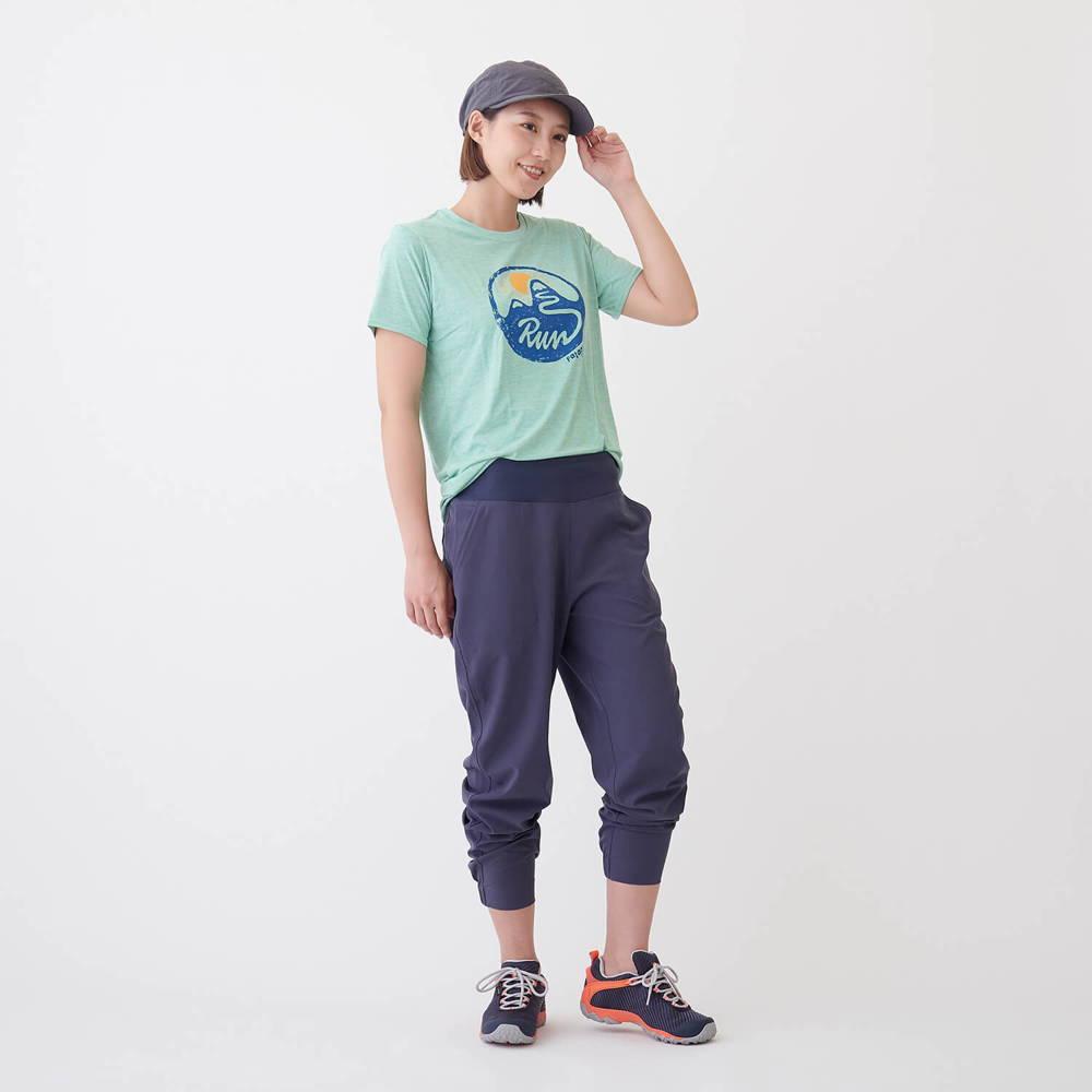 patagonia(パタゴニア)/キャプリーンクール デイリーグラフィックシャツ/ピンク/WOMENS
