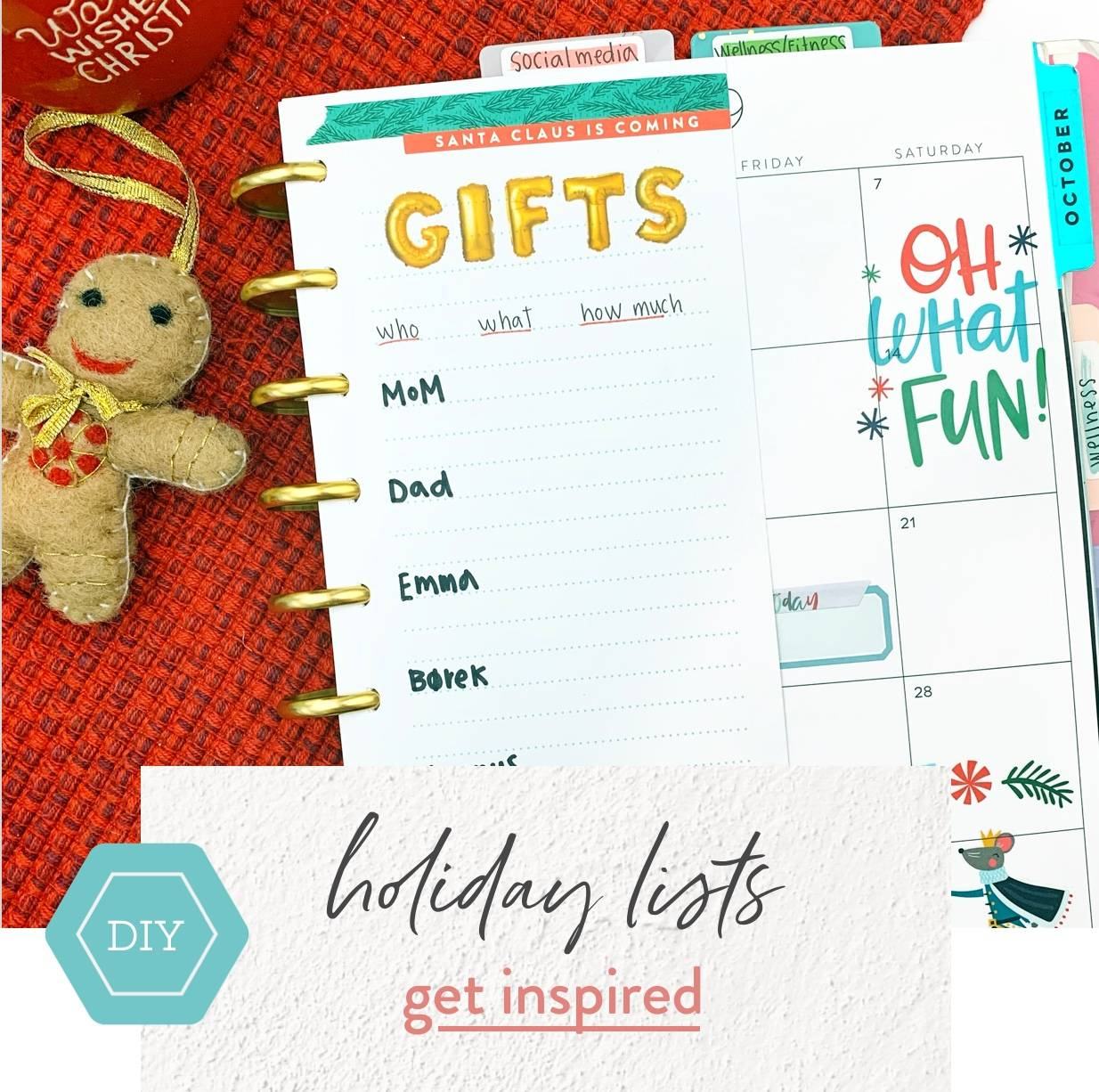 diy holiday lists get inspired