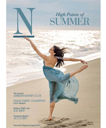 Nantuckit Magazine August 2017 cover page 1