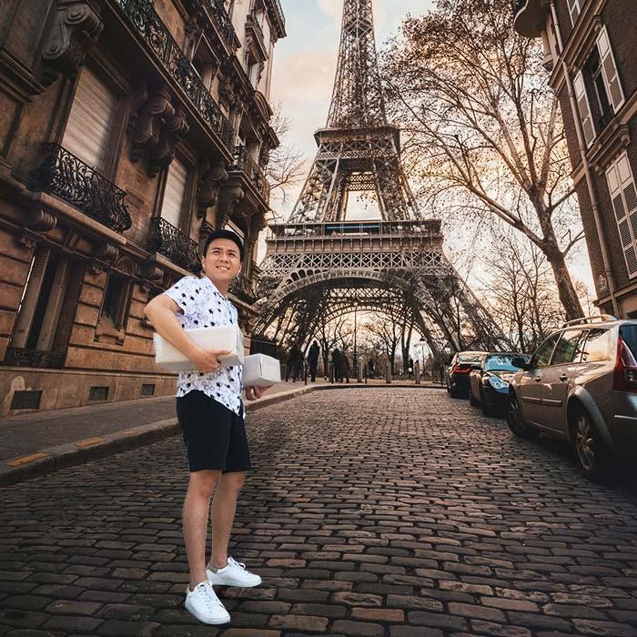 livraison chaussures à Paris