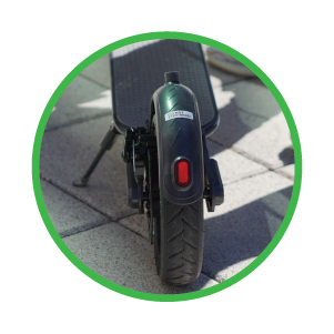 SUNL Foldable Scooter with Safe Lighting System