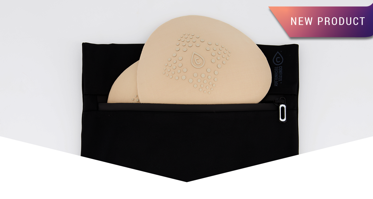 The Just'nCase Small Waterproof Eco-Bag is your essential leakproof wetbag for discreet, odour-resistant storage of nursing pads and absorbent underwear.