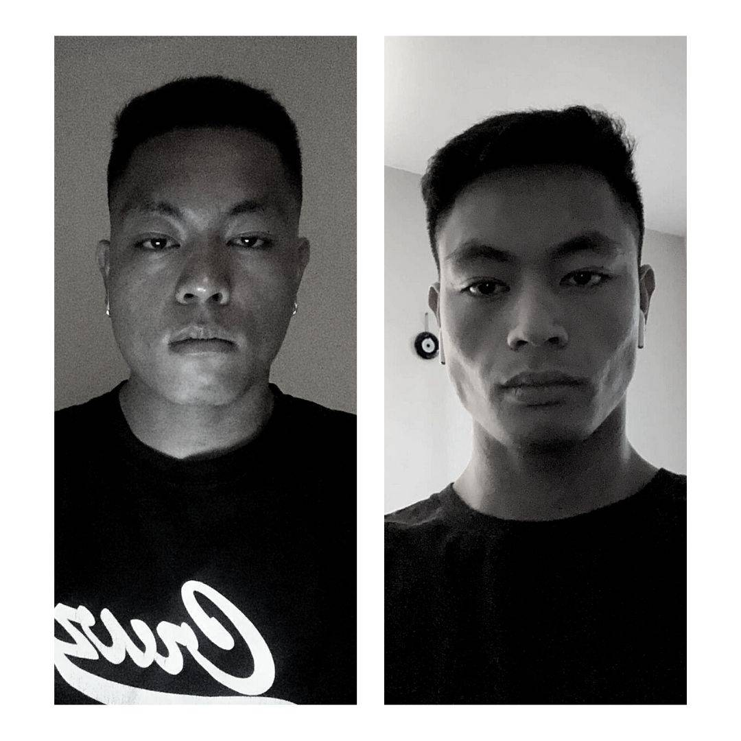 before and after jawline exercises