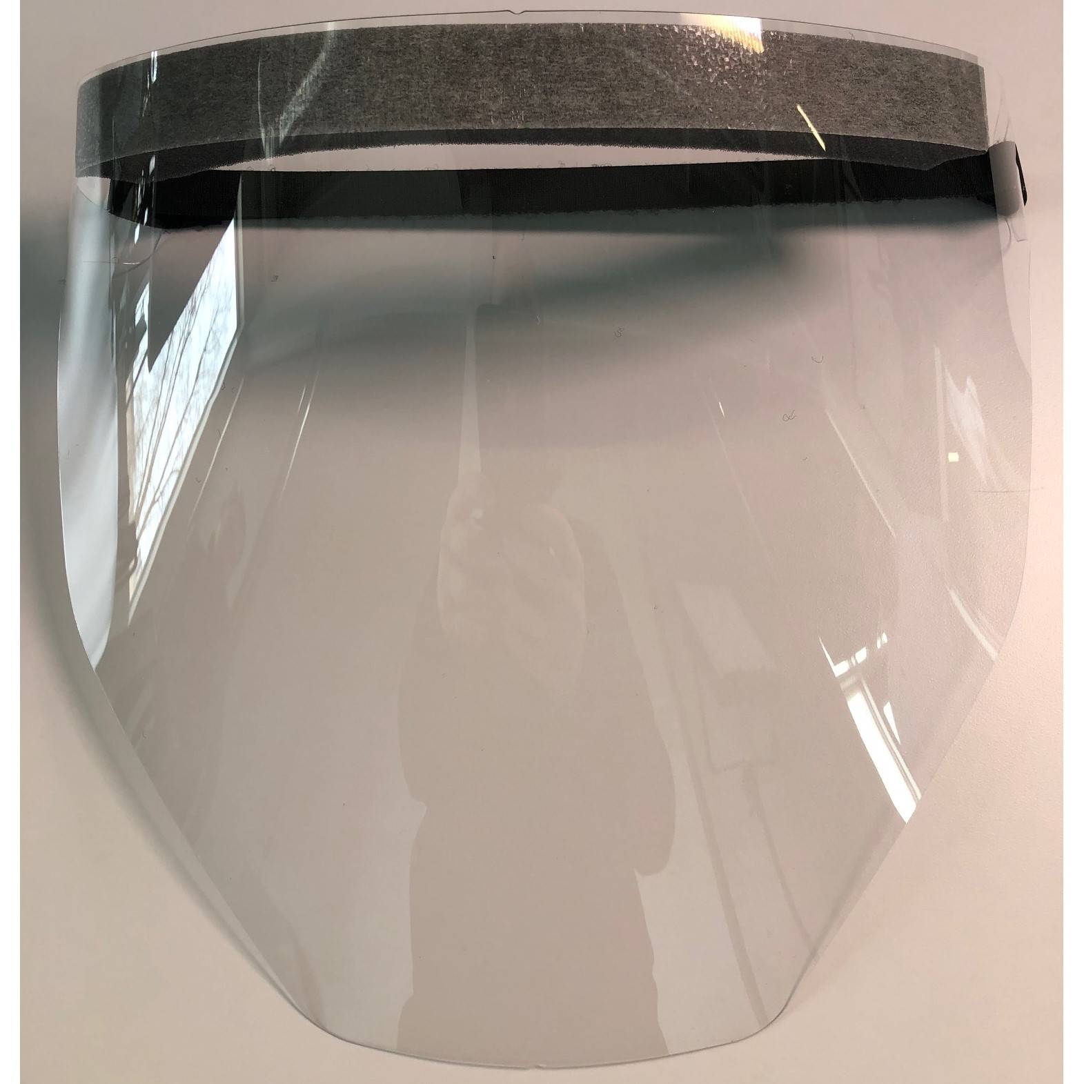 Faceshield/Face Mask - PET Plastic with Adjustable Hook & Loop Closure (PK 100 Faceshields) - RPB Safety SN-Z