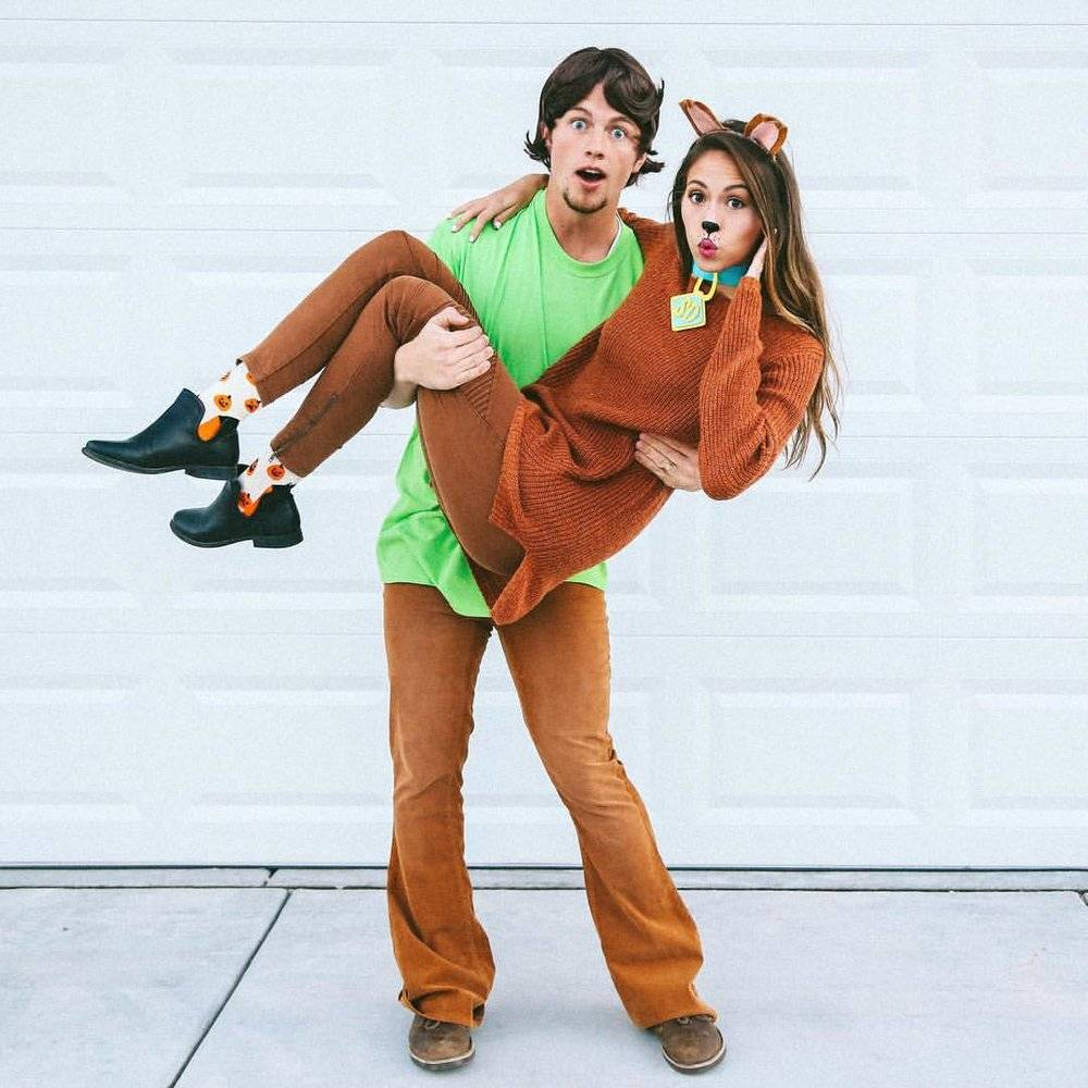 The Best 420 Halloween Costumes - Shaggy and Scooby Doo at DopeBoo.com