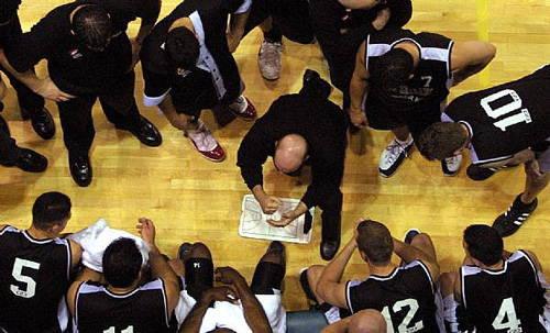 Timeout basketball