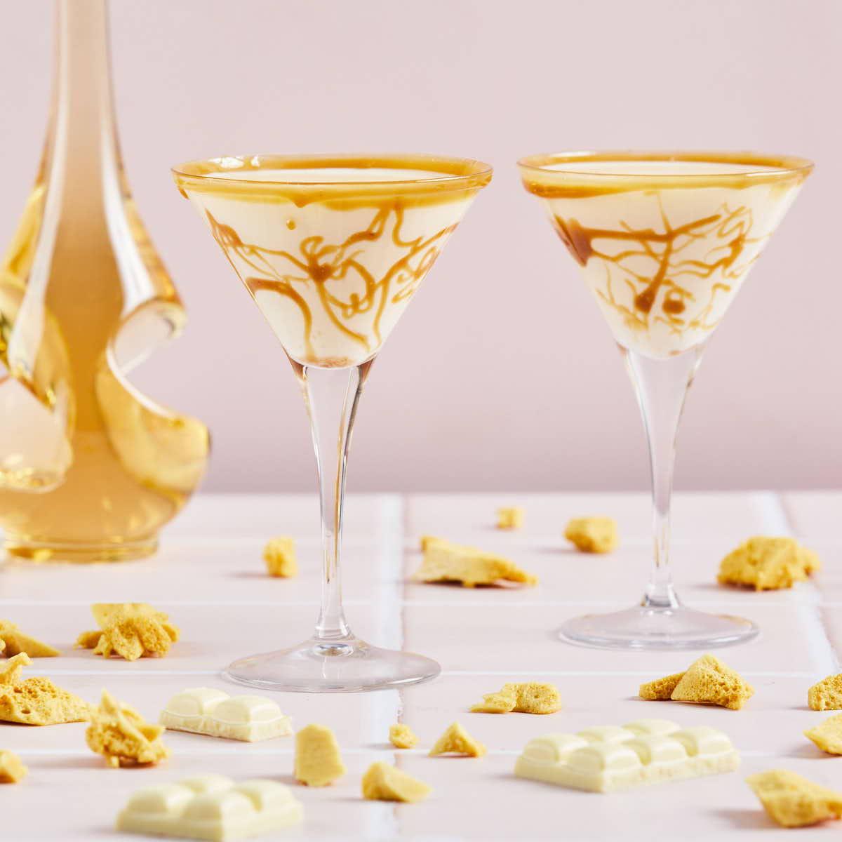 Boozy Honeycomb Cocktail Recipe