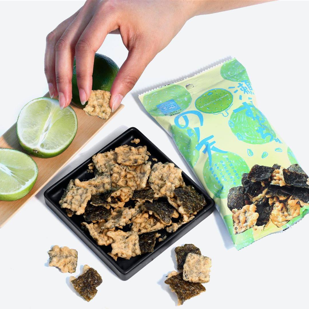 Seaweed Tempura: Setouchi Sudachi Flavor