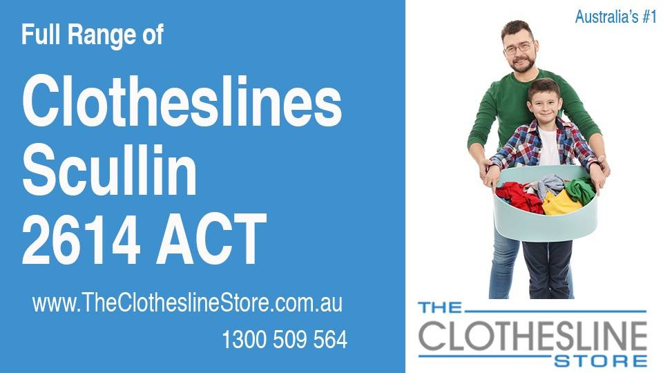 New Clotheslines in Scullin ACT 2614
