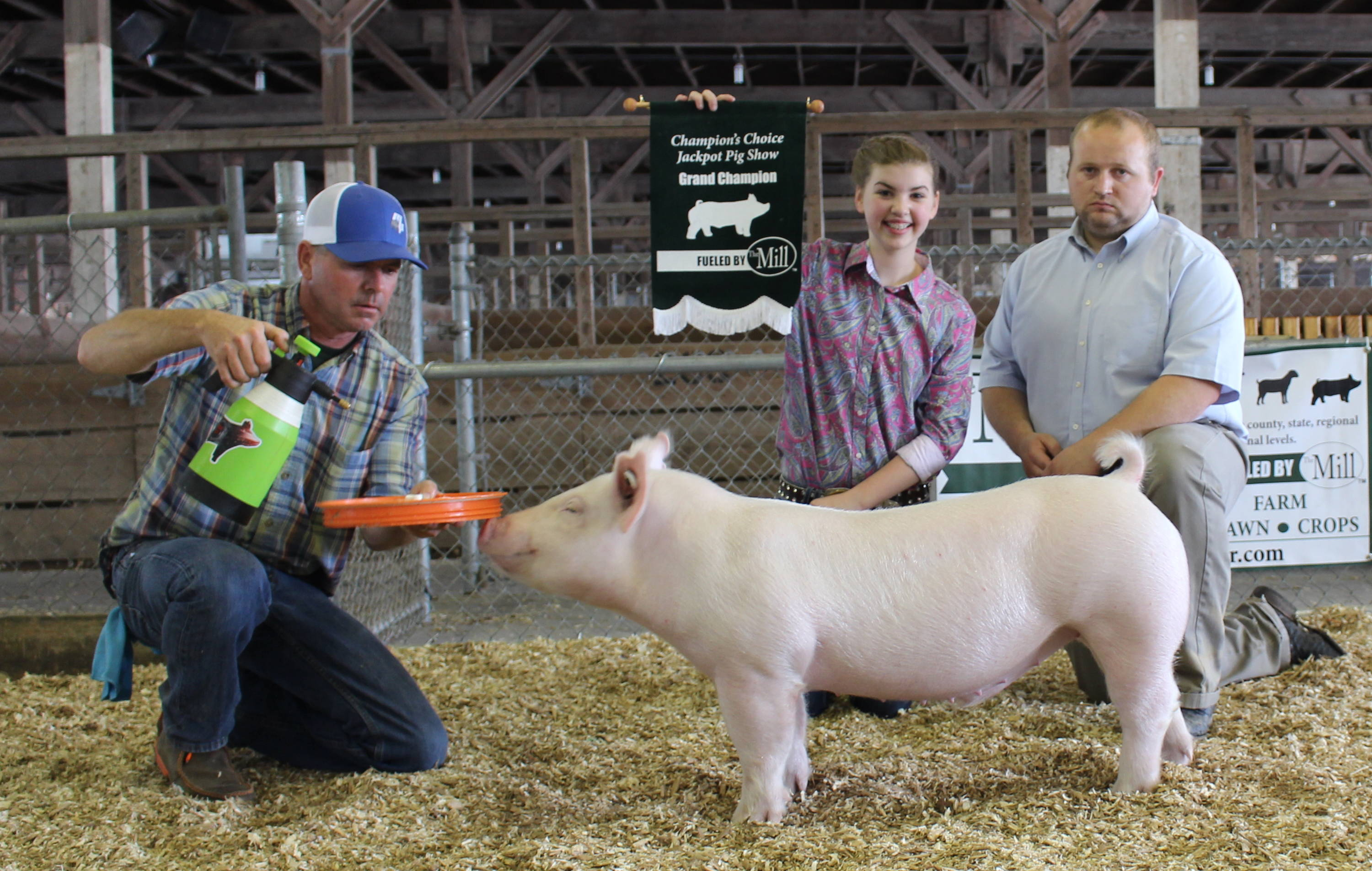 Jackpot Pig Show - The Mill - Bel Air, Black Horse, Red Lion