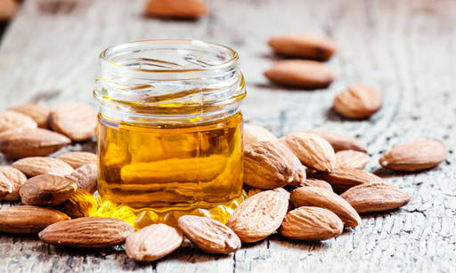 Obtained from almond tree seeds, a valued ingredient of care cosmetics