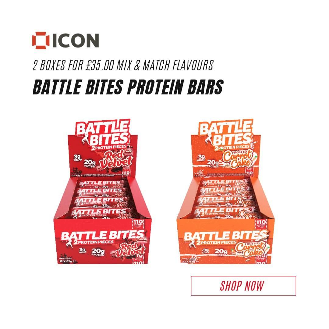 Battle Bites Protein Bars Offer
