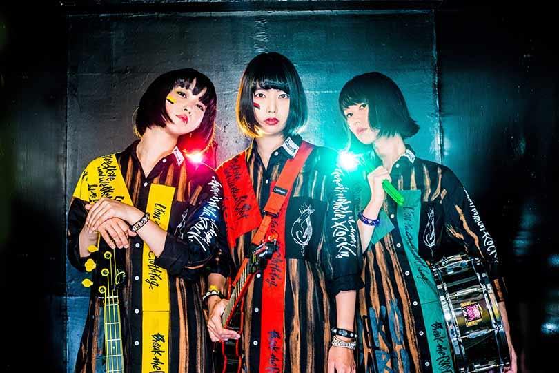 Mutant Monster Japanese punk band girls JPU Records