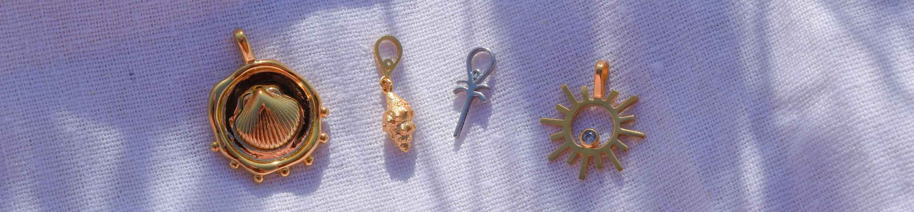 Summer Collection earring charms and necklace charms