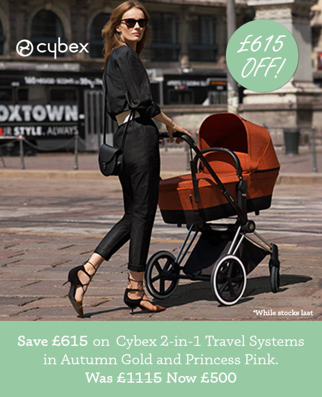 £615 off Cybex 2-in-1 Travel Systems