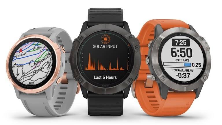 The Garmin fenix 6 series watches