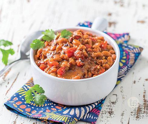 Fiesta Charro Beans