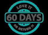 60 day return badge