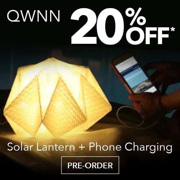 QWNN- Solar Lantern + Power Bank