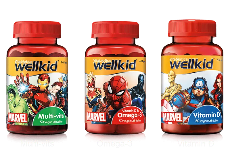 Marvel Gummies Products