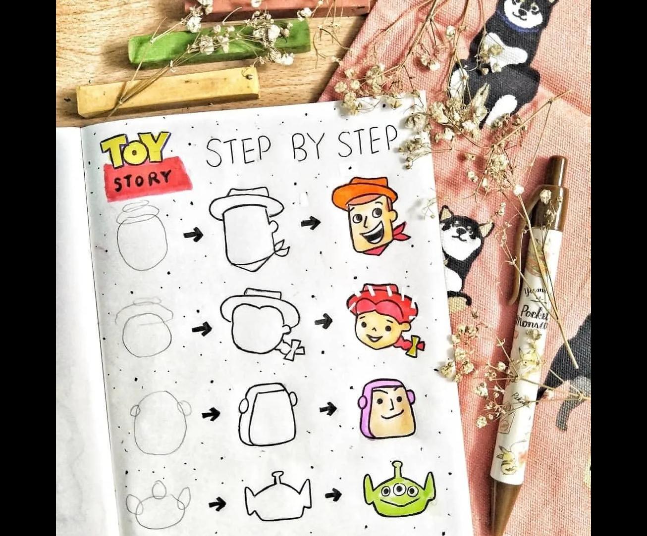Doodle câu chuyện đồ chơi