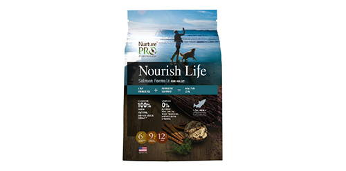 nurture pro nourish life salmon for adult