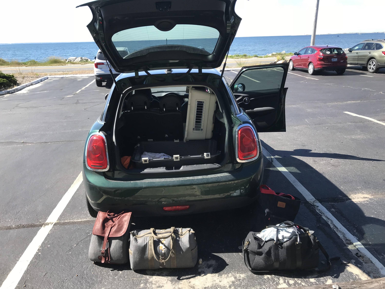 monte & coe mini road trip provincetown weekender bags