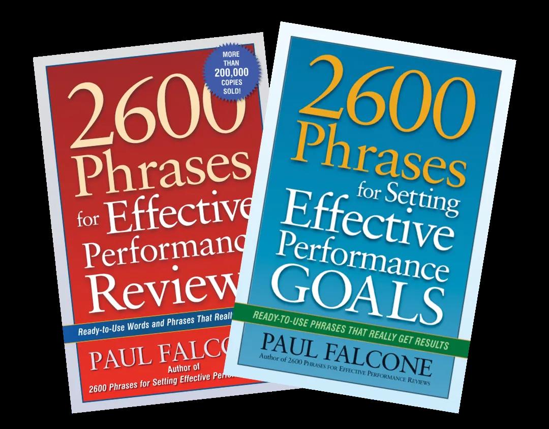 performance review book bundle