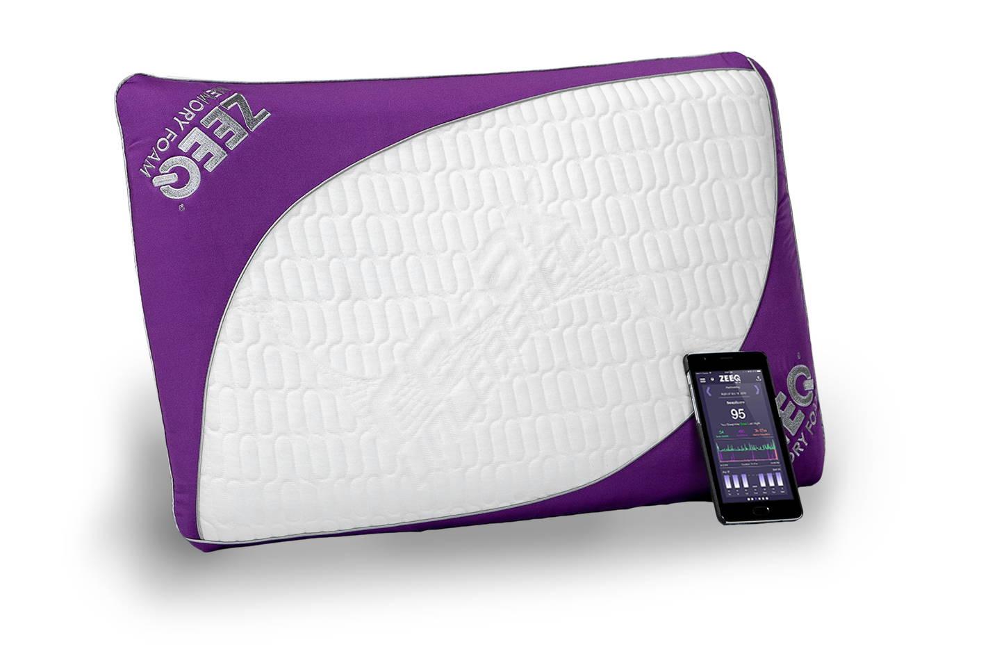 Optimal Sleep page. REM-Fit ZEEQ smart pillow