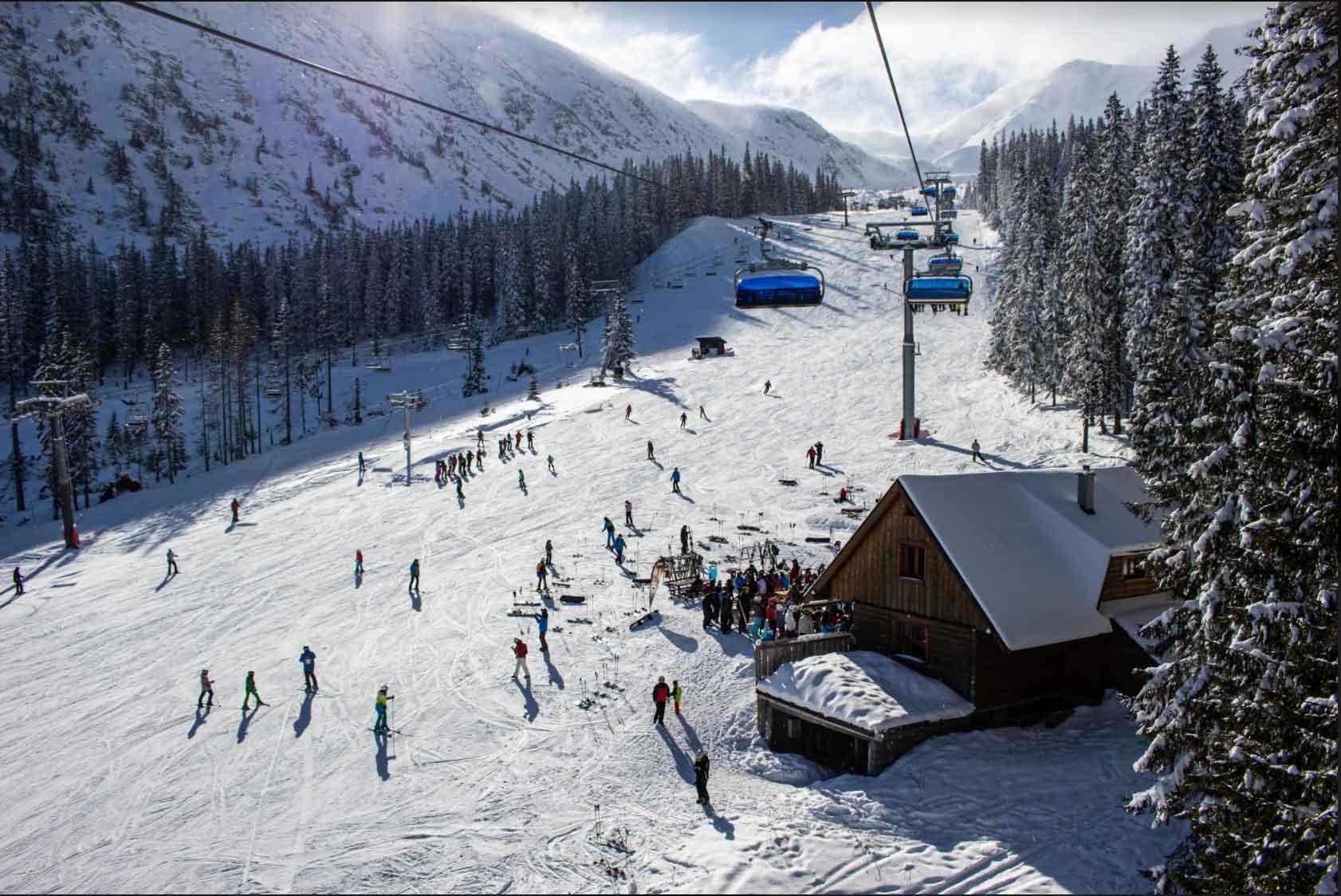 Snow Ski Lift Colorado Backpacker