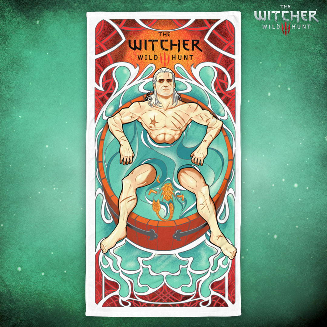 The Witcher 3 No Rest for the Witcher Towel