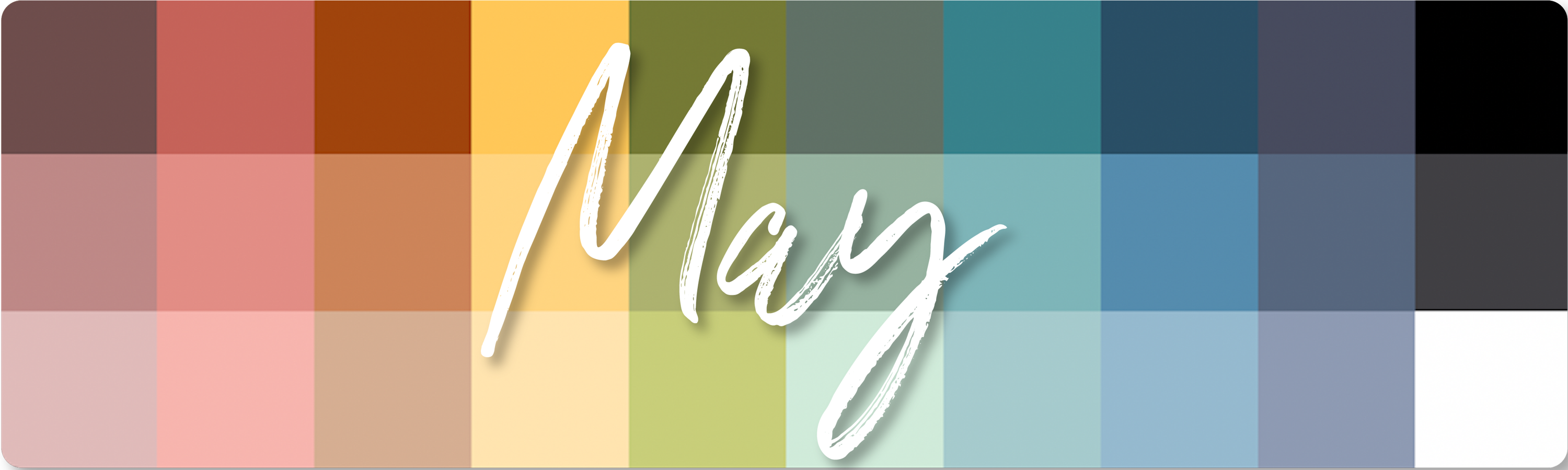 May Color Palette Download
