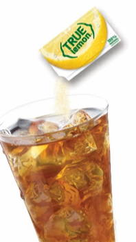 True Lemon mixed with iced tea