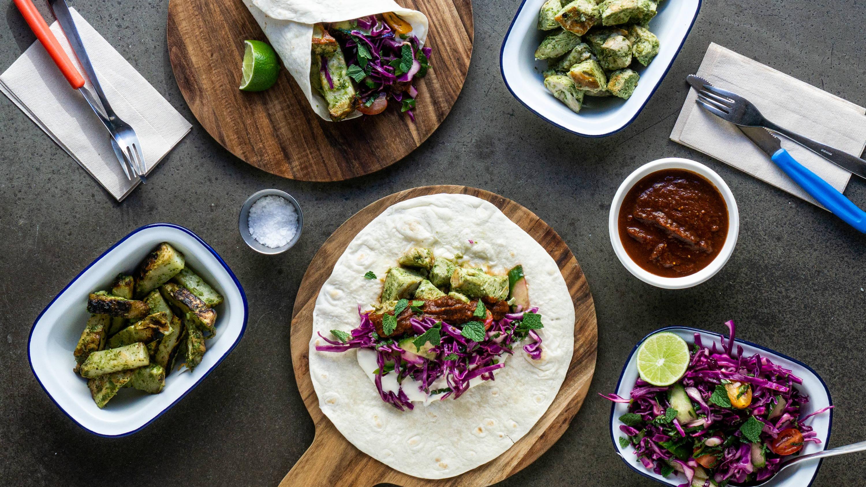 Inspiration til aftensmad og anretning af måltidskasse fra Mæxico