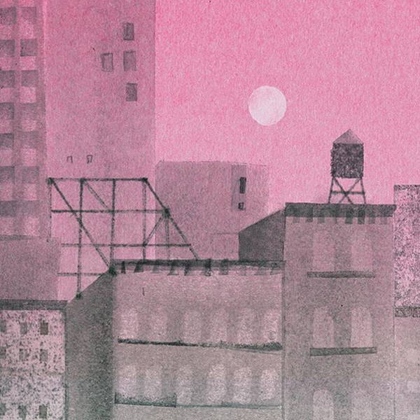 Fiona Woodcock's Illustration of New York's Water Towers