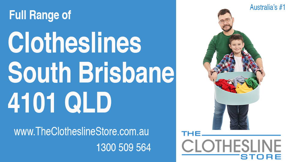 New Clotheslines in South Brisbane Queensland 4101
